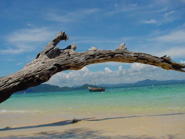 เกาะกระดาน
